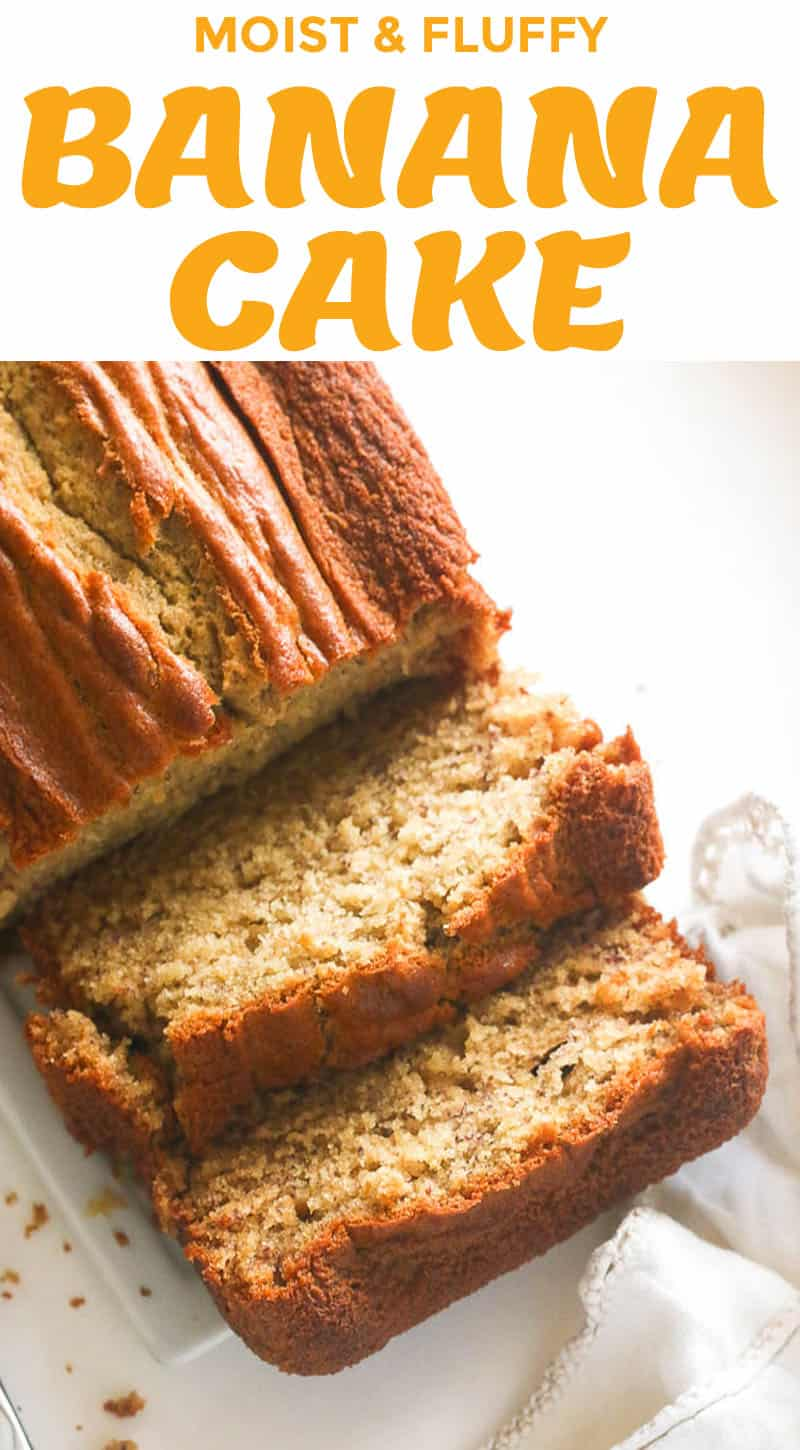 How to make a quick and easy banana cake