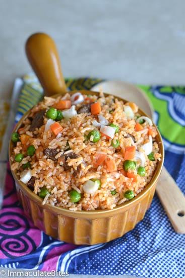 Jollof Rice(Jellof Rice)