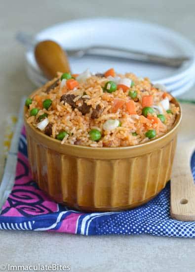 Jellof rice