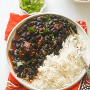 African Black Beans Stew
