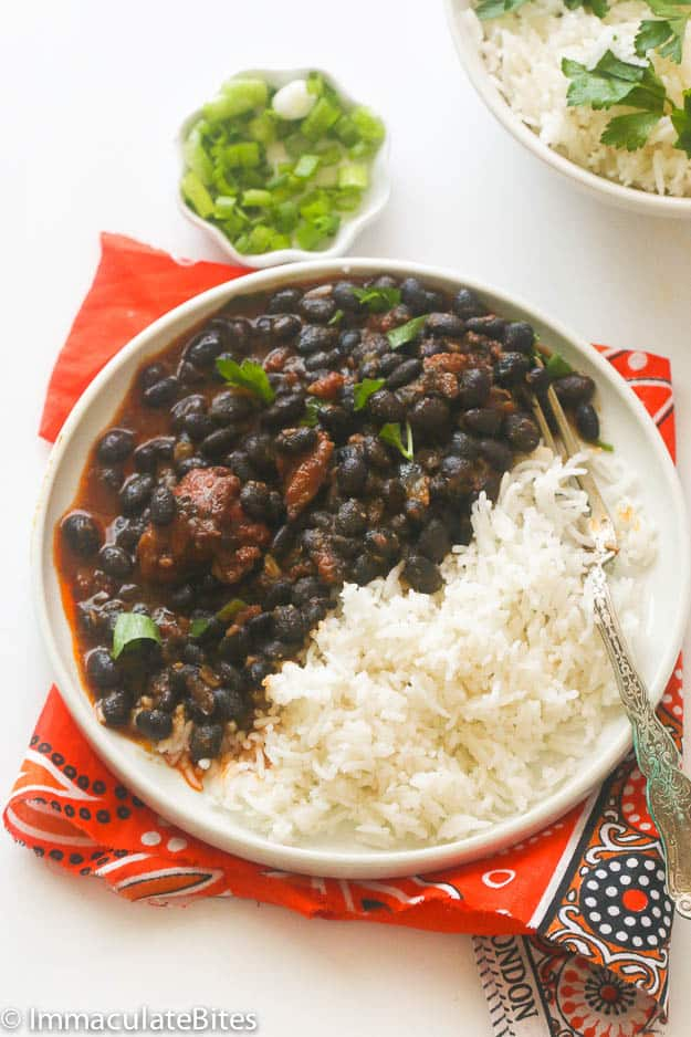 African black bean Stew