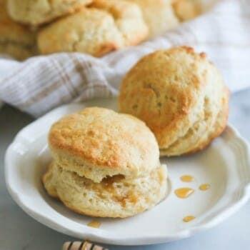 Light & Fluffy Cream Biscuits