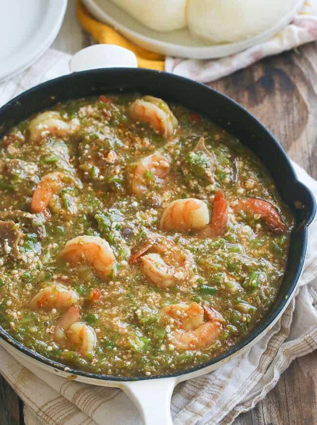African Okro Soup Recipe Africanbites Com