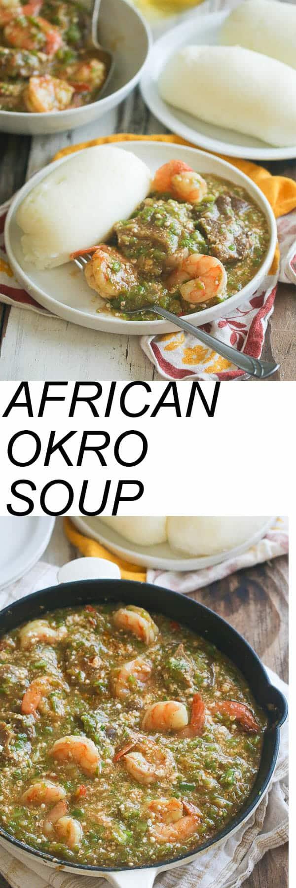 African okro-soup
