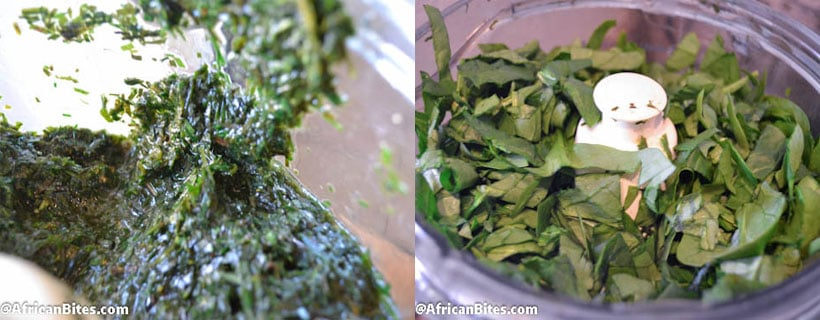 Afang Soup (Spinach and Okazi leaves ) - Immaculate Bites