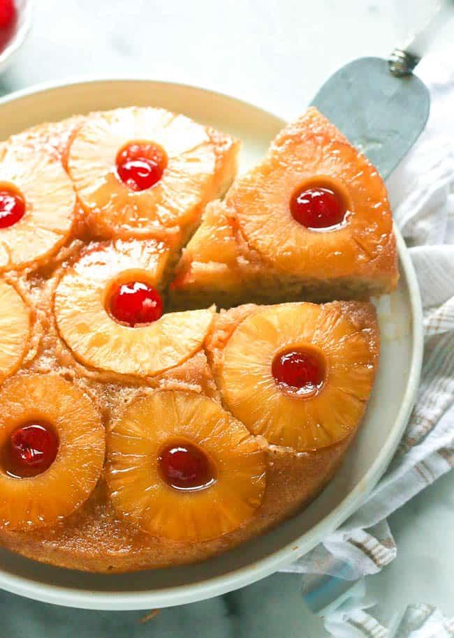 Pine apple upside down cake