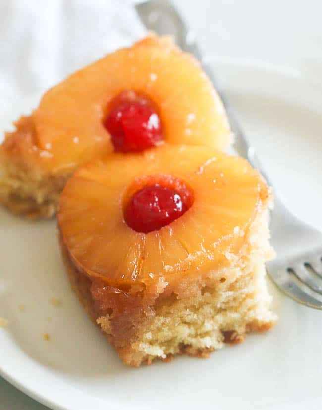 Pineapple Upside Down Cake Without Butter
