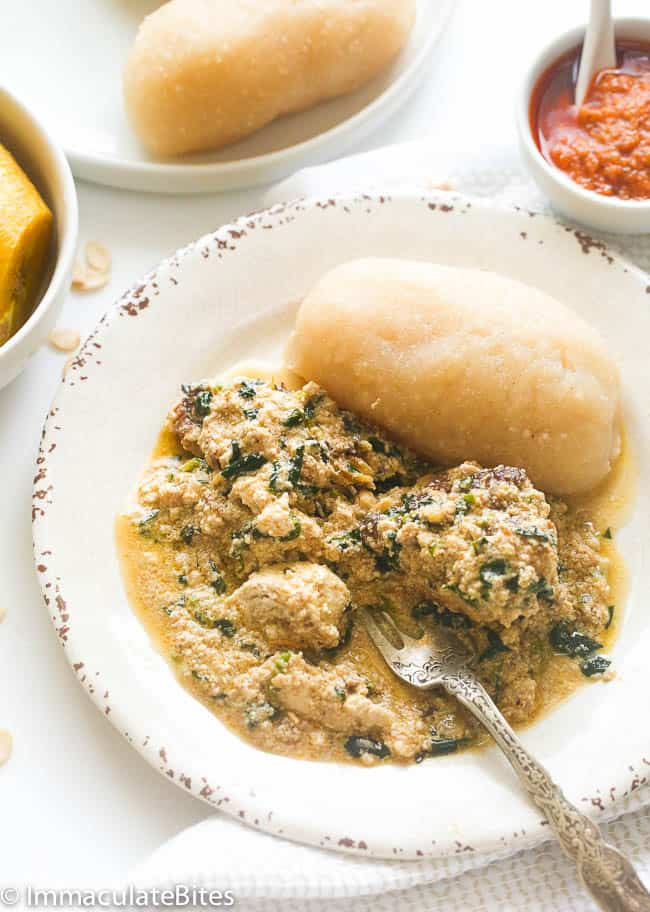 Egusi Soup with lumps