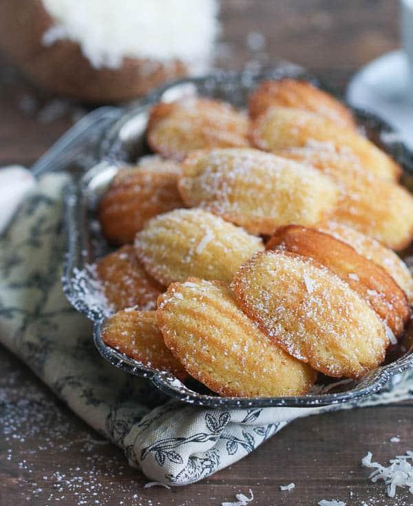 Coconut Madeleine