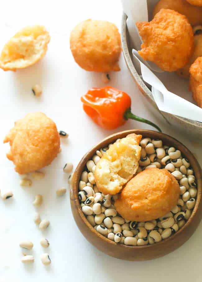 Black eyed Peas Fritters