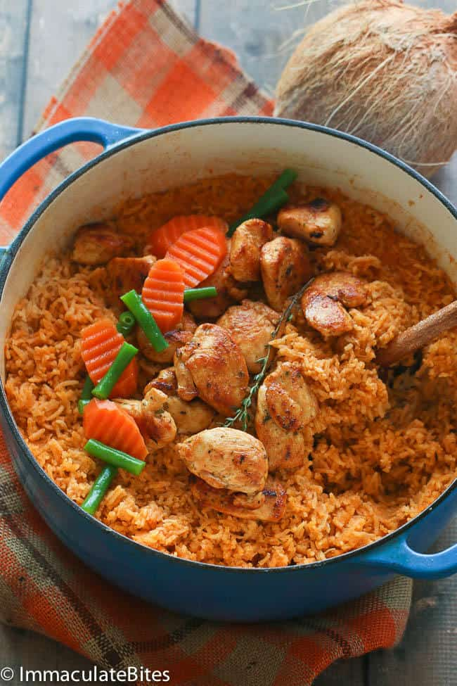 how to prepare jollof rice with vegetables