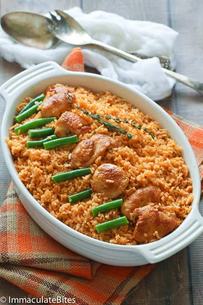 how to cook nigerian coconut jollof rice