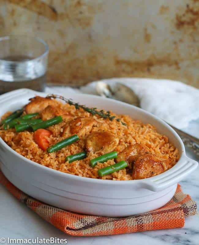 Coconut Jollof Rice