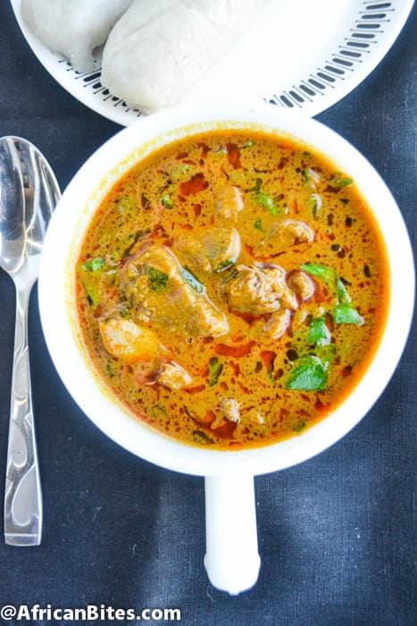 Mbanga/Palmnut Soup