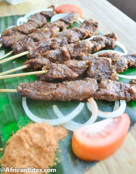 Suya (Spicy grilled kebab) - Immaculate Bites