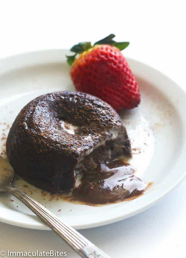 Easy Vegan Lava Cake