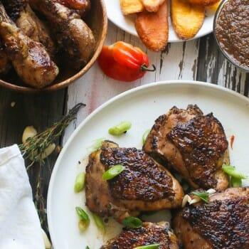 Grill Jerk Chicken
