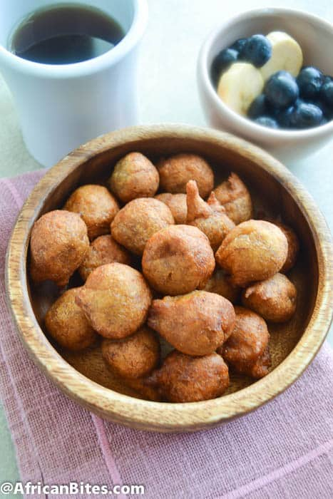 Whole Wheat Accra Bananas(Deep Fried Bananas Fritters)