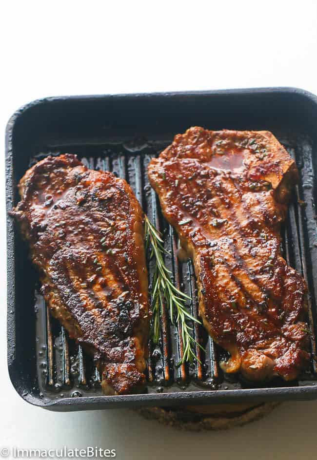 Spicy Garlic Amp Rosemary Grill Steak Immaculate Bites