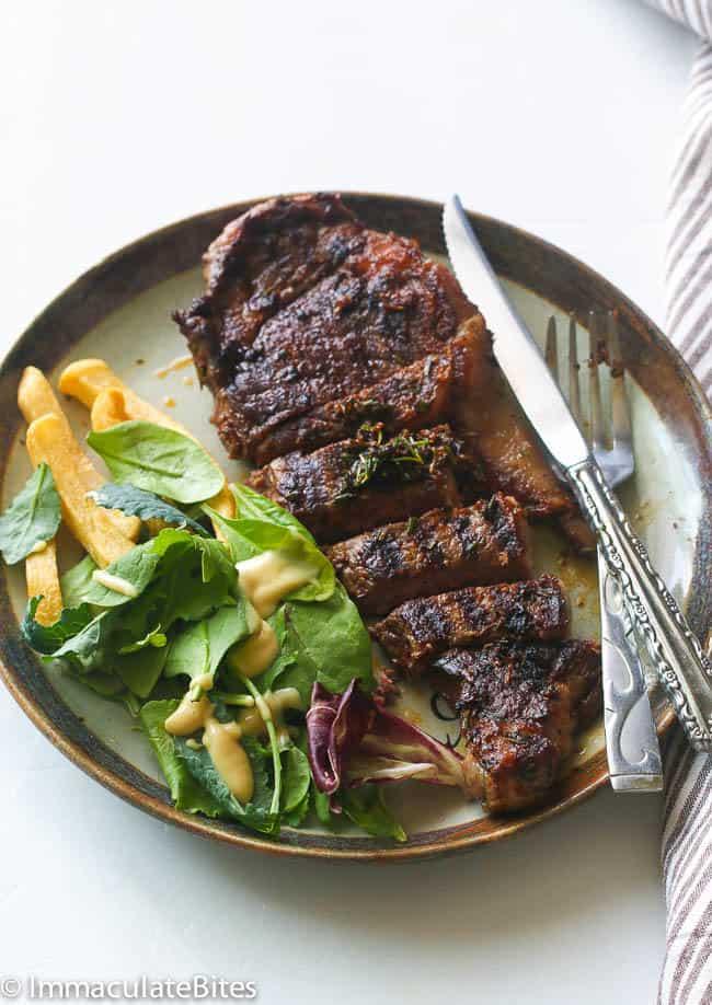 Spicy Grill Steak