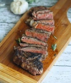 Spicy Garlic & Rosemary Grill Steak