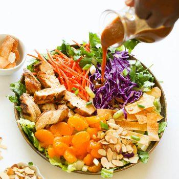 Light  Chinese Chicken Salad