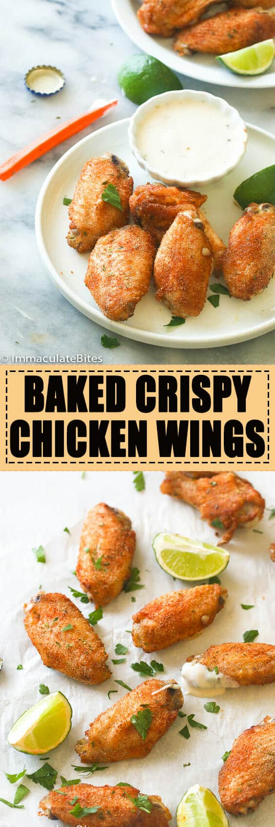 Baked Crispy Chicken Wings