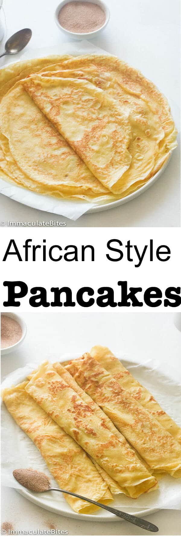 African pancakes/crepes