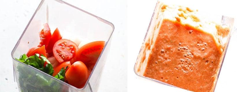 Chicken Stew.Tomato Blend