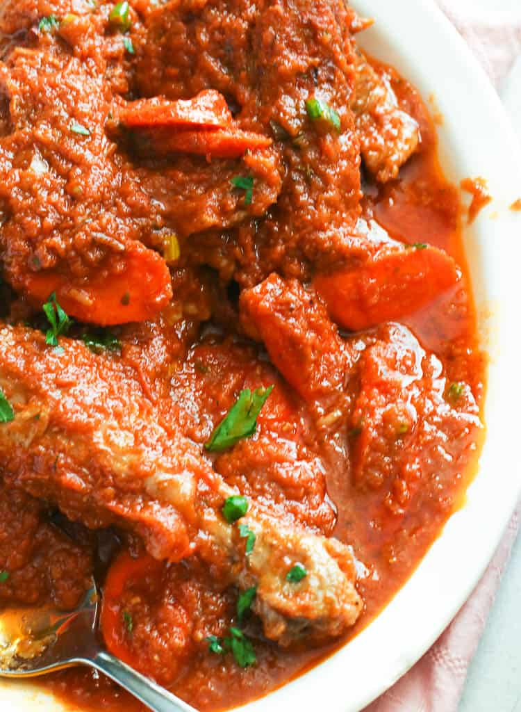 Chicken Stew (African-style)
