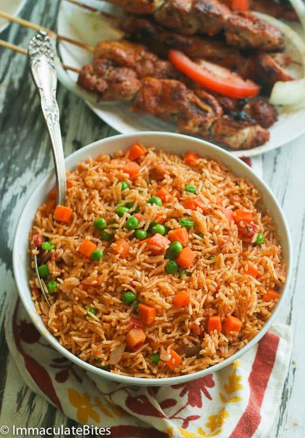 Jollof Rice(Oven Baked)