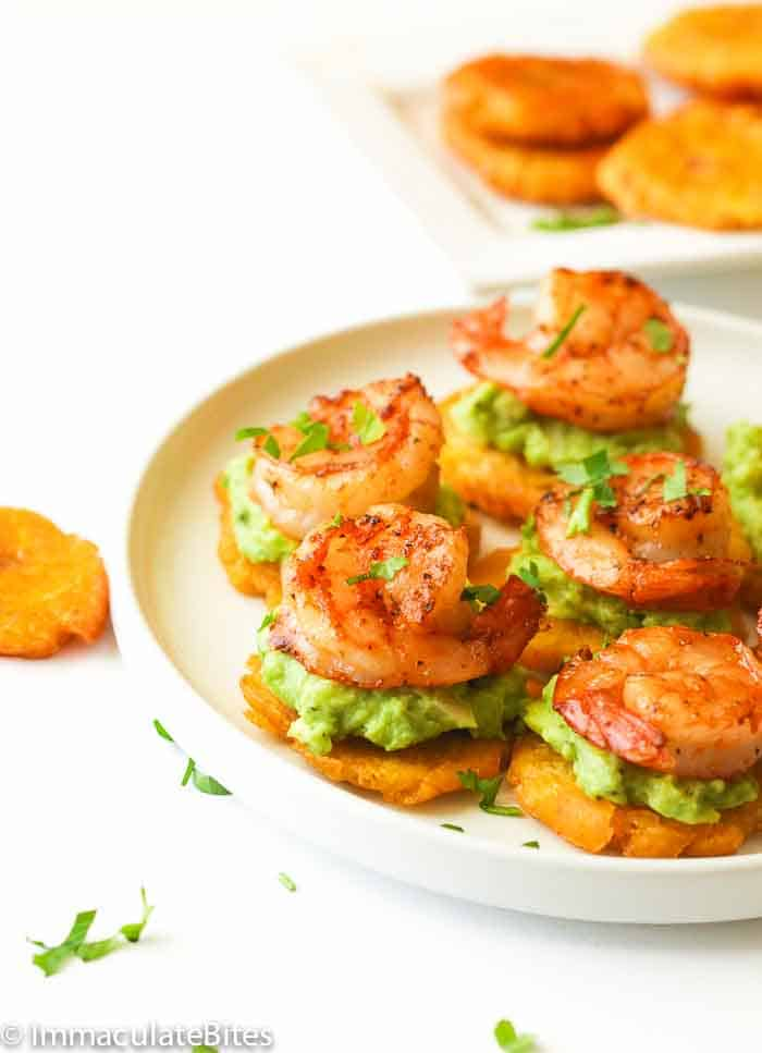 Tostones on a Plate