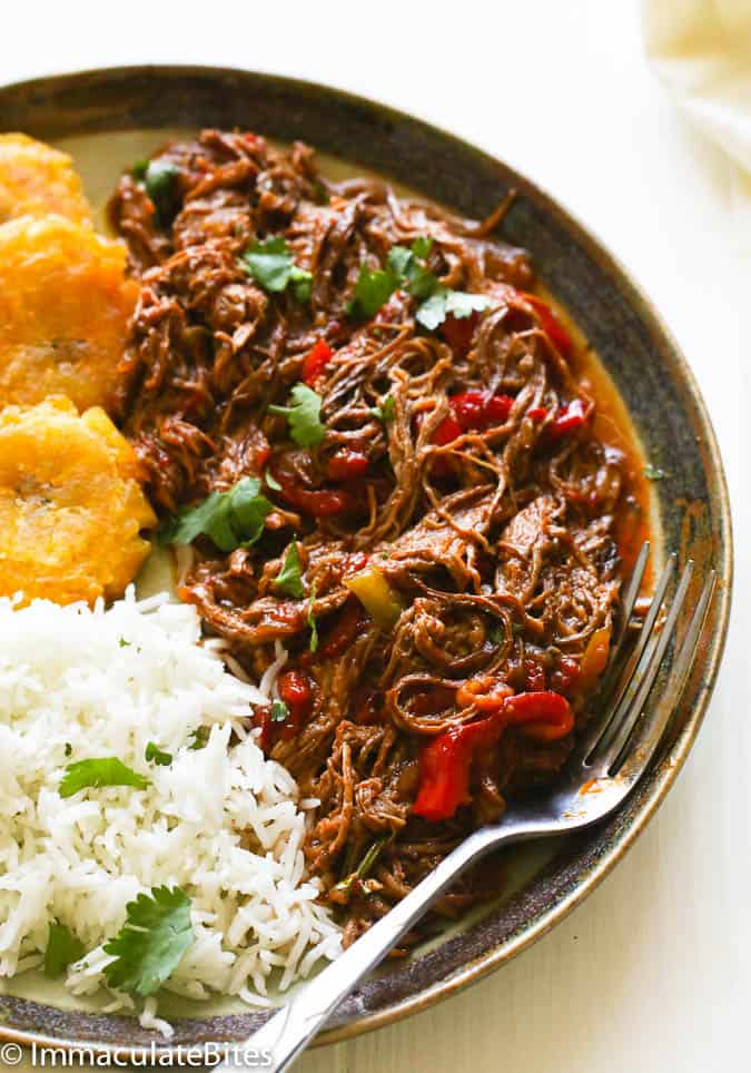 Ropa vieja slow cooker today my friends i like to share with you a super flavorful tender beef recipe from cuba a recipe i have enjoyed countless times but have never taken forumfinder Gallery