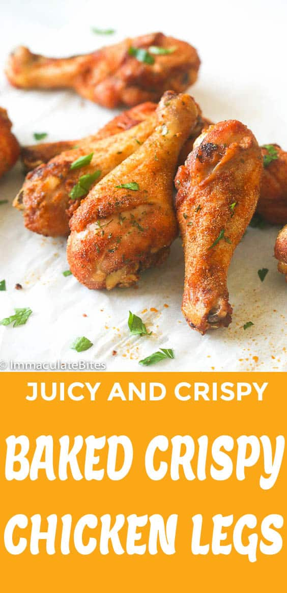 Baked Crispy Chicken Legs
