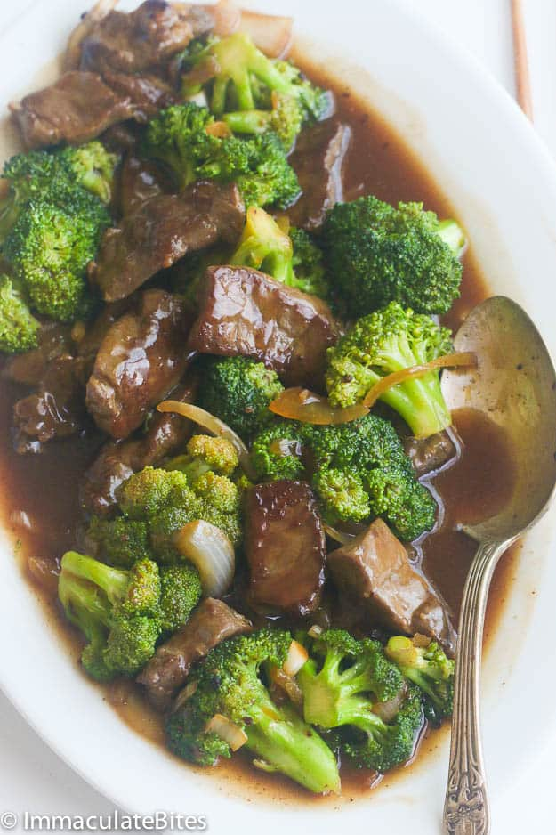 Beef Broccoli Stir Fry Immaculate Bites