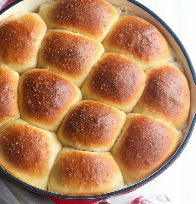 Samoan Bread Roll Pani Popo