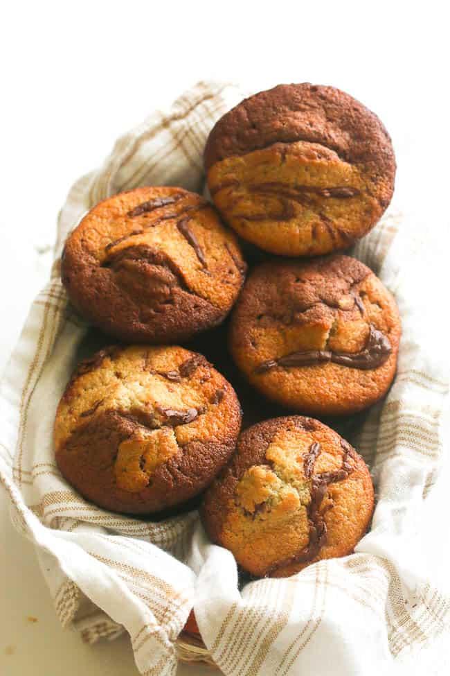 Banana Chocolate Coconut Muffins