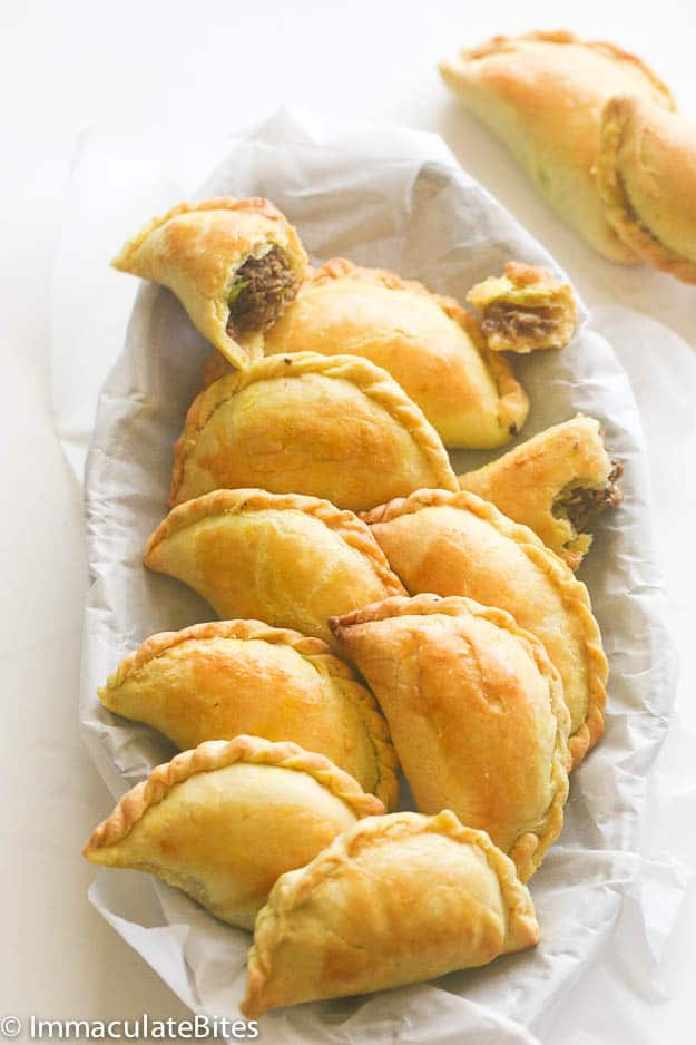 jamaican meat piejamaican beef patty  immaculate bites