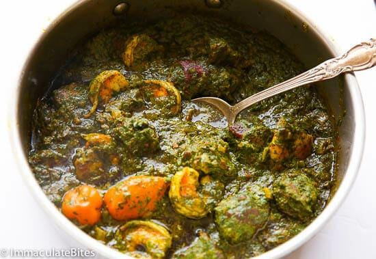 Cassava Leaf Soup - Immaculate Bites