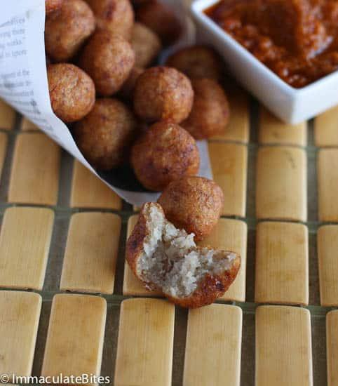 Cassava fritters