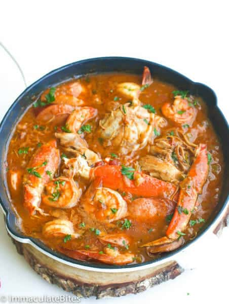 Chicken Shrimp and Sausage Gumbo