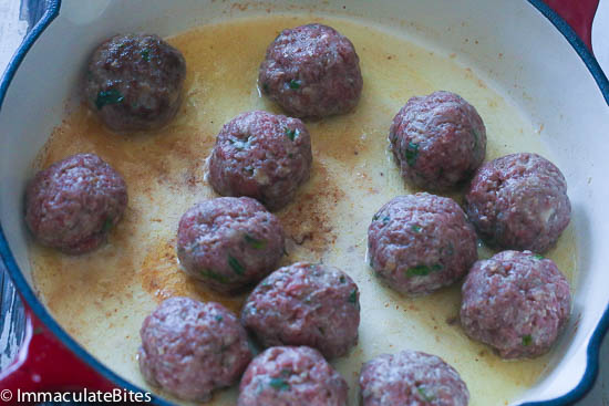 African Meatballs in tomato sauce