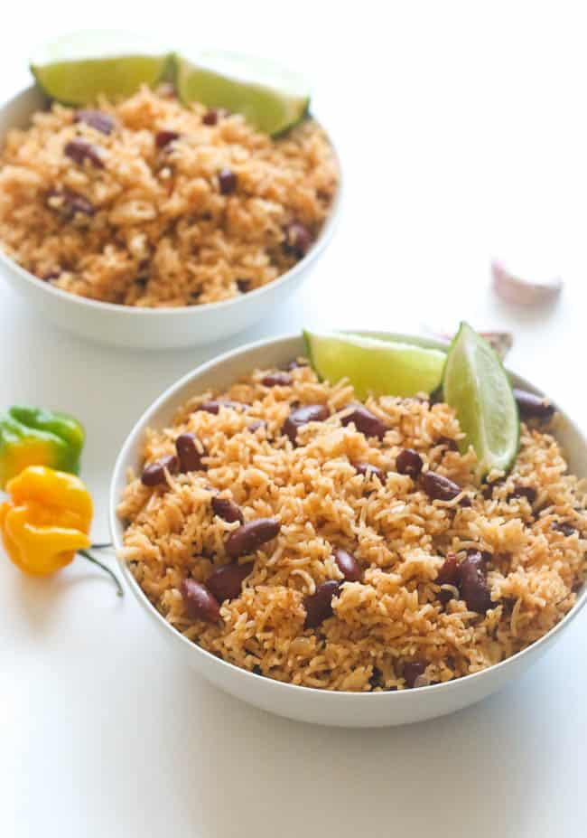 Caribbean Rice And Beans Immaculate Bites