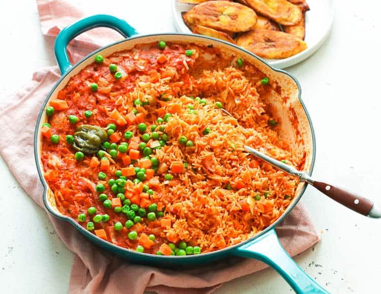 Jollof Rice - Immaculate Bites