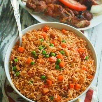 Jollof Rice (Oven Baked)