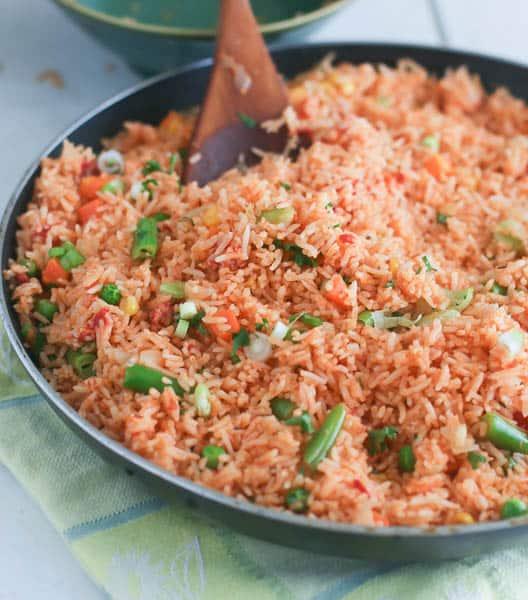 Baked Jellof rice
