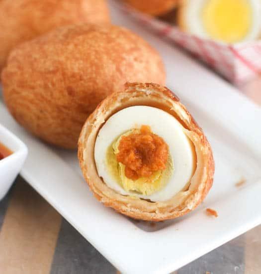 African Egg Roll