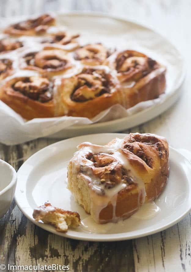 Fastest Cinnamon bun