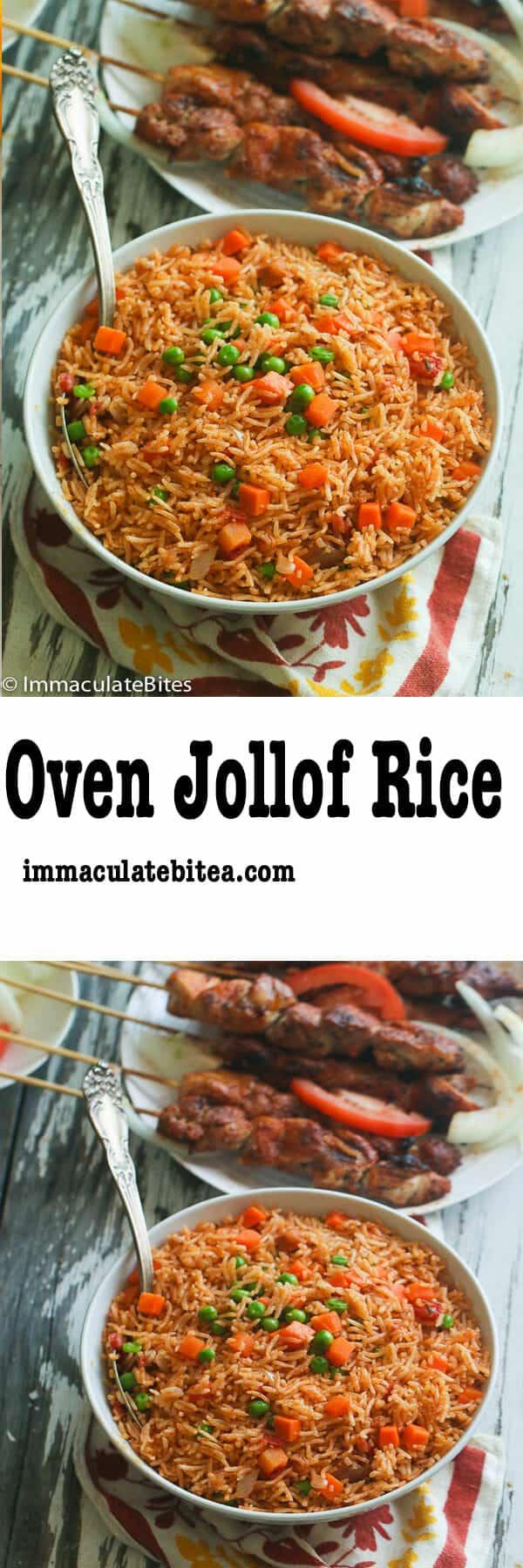 Oven Jollof Rice