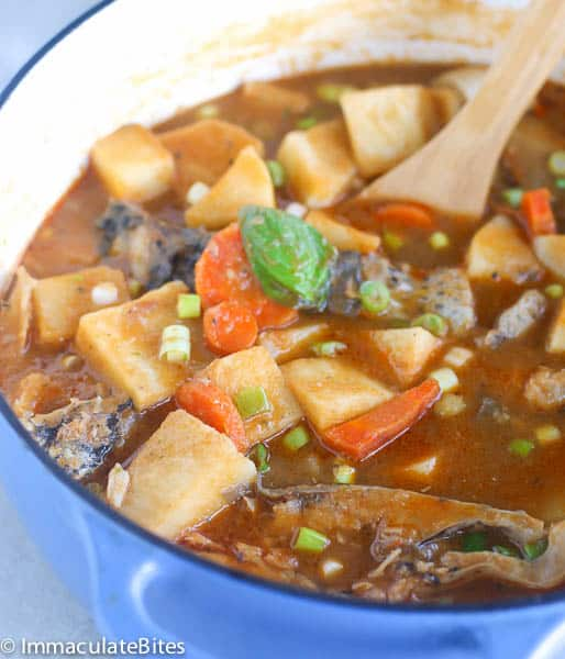 African Yam Soup (Stew)